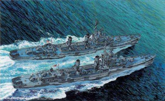 USS Livermore / USS Monssen - 1942