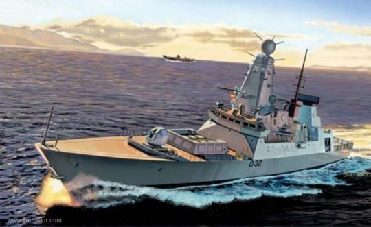 HMS Daring - Type 45 Zerstörer