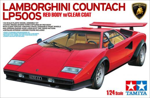 Lamborghini Countach LP500S - rot lackiert