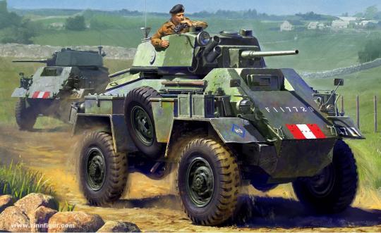7 ton AC Mk.IV Panzerwagen
