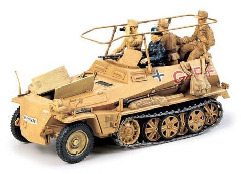 "Tamiya: Rommels Sd.Kfz. 250/3  ""Greif"", 1941 bis 1943"