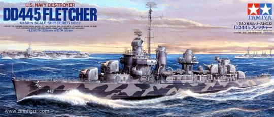 Zerstörer Fletcher DD 445