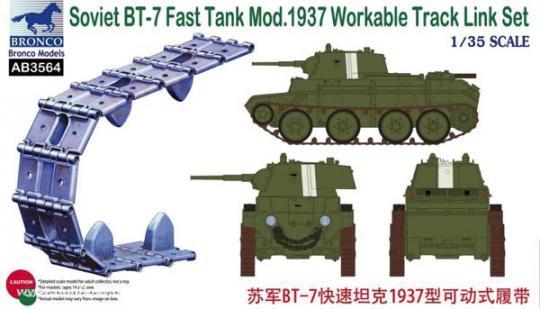 BT-7 Mod.1937 Panzerkettenglieder