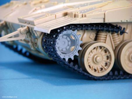 Merkava Mk.IID Detailset