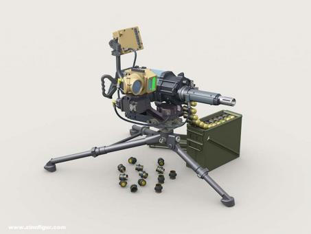 MK47 Striker 40mm AGL w LVSII Sight on Tripod