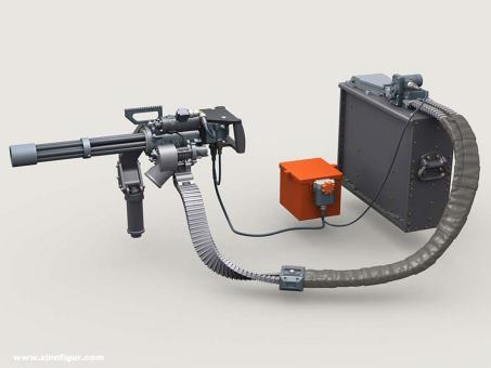 Minigun Basic Set #2 w/3,000rd Ammo Box