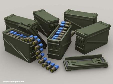 PA120 40mm Ammo 32 Cartridge Can set