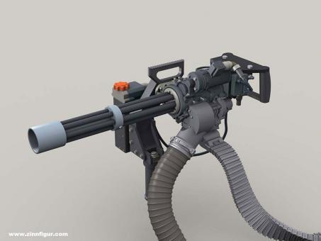 M134D Minigun Body set