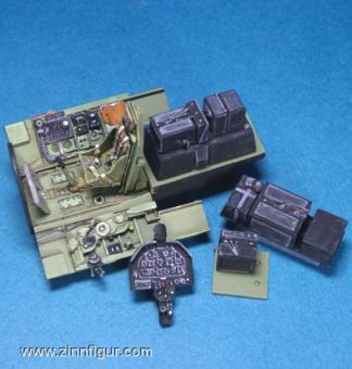P-51B Cockpit Set ( for Accurate Miniature )