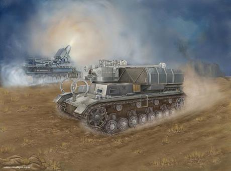 Pz.Kpfw.IV Ausf.F Munitionsschlepper