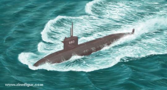 JMSDF Harushio-Klasse U-Boot