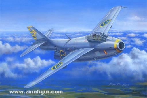 """Saab J 29B Tunnan """"Flying Barrel"""""""