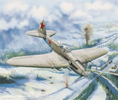 IL-2 Bodenkampfflugzeug