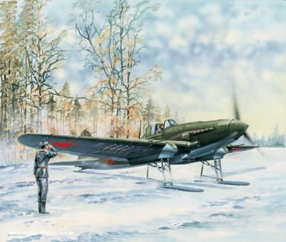 IL-2 Sturmovik auf Ski