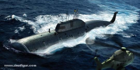 Jagd-U-boot der Akula Klasse