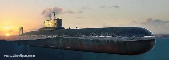 SSBN U-Boot der Typhoon-Klasse der Russischen Marine