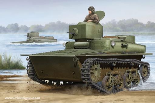T-37 Leichter Amphibienpanzer früh