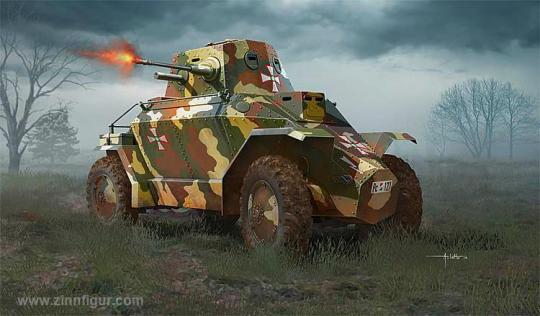 Ungarischer 39M Csaba Panzerwagen