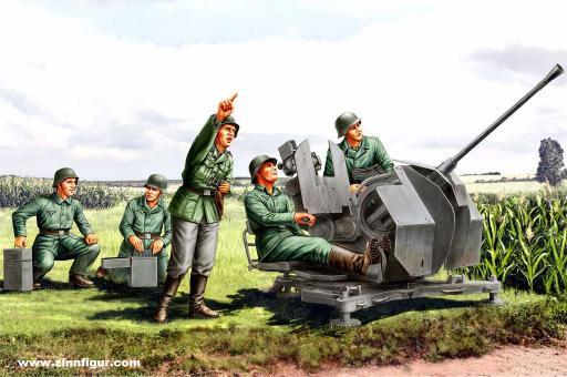 20mm Flak38 Figuren-Set