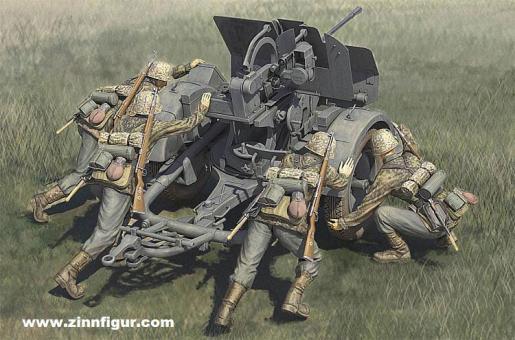 20mm FlaK38 früh mit Bedienung (WSS)