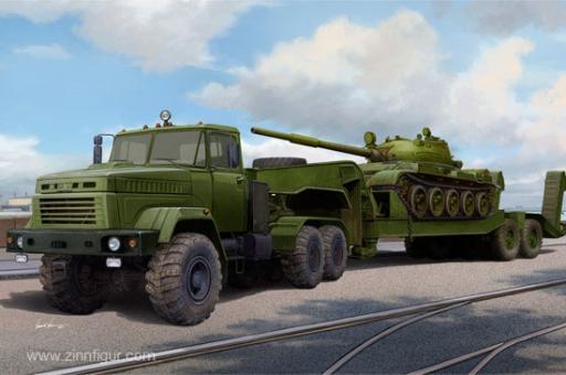 KrAZ-6446 mit MAZ/ChMZAP-5247G Anhänger