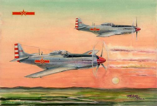"""P-51D Mustang """"PLAAF"""""""