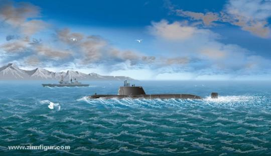 HMS Astute Fleet Submarine
