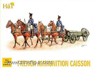 French Ammunition Caisson
