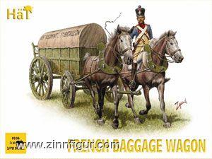 French Baggage Wagon