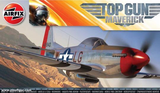"""P-51D Mustang """"Maverick's"""" - Top Gun"""