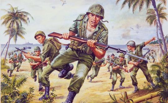 US Marines - 2. Weltkrieg - Vintage Classics