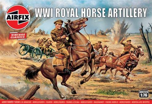Royal Horse Artillery - Erster Weltkrieg - Vintage Classics