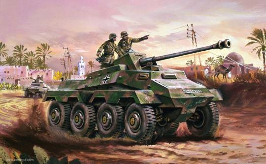 Sd.Kfz.234 Panzerwagen - Vintage Classics