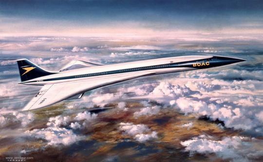 """Concorde Prototyp """"BOAC"""" - Vintage Classics"""
