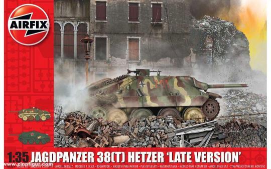Jagdpanzer 38 (t) Hetzer späte Version