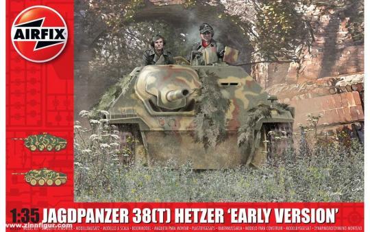 Jagdpanzer 38 (t) Hetzer frühe Version