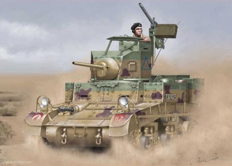 """M3 Stuart """"Honey"""" - Britische Version"""