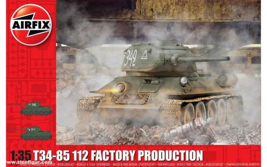 T-34/85 II2 Fabrik Produktion