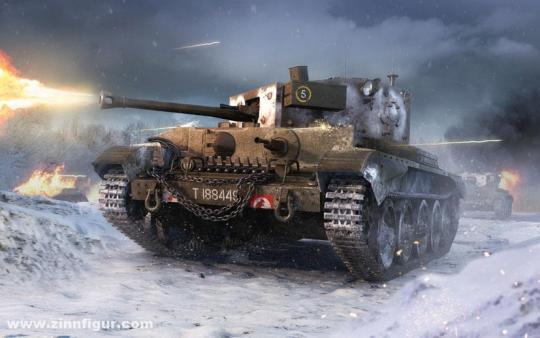 Cruiser Tank Mk.VIII A27M Cromwell Mk.IV