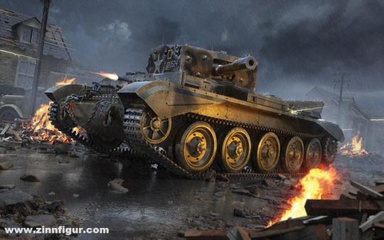 Cruiser Tank Mk.VIII A27M Cromwell Mk.VI