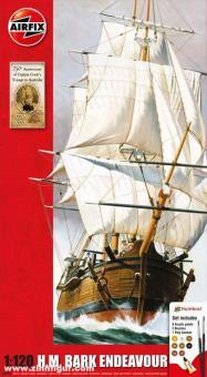 """HM Bark Endeavour """"250 Jahre Reise Captain Cooks"""""""