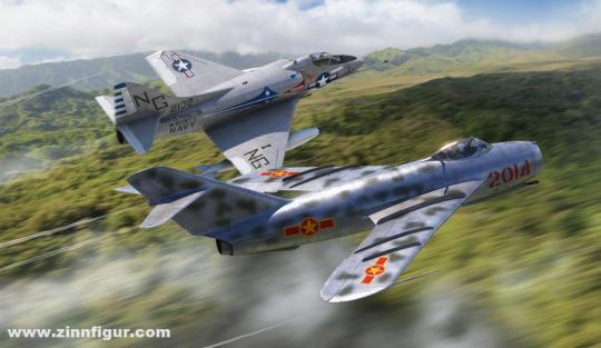 MiG-17 & Douglas A-4 Skyhawk - Dogfight Double