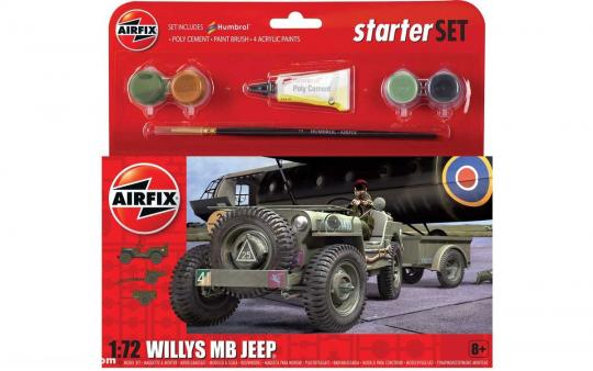 Willys MB Jeep - Starterset