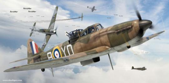Boulton Paul Defiant Mk.I Starterset