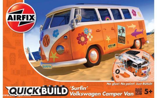 "VW Camping-Bus ""Surfin"" - QUICKBUILD"