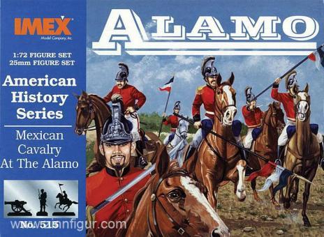 Mexikanische Kavallerie bei Alamo