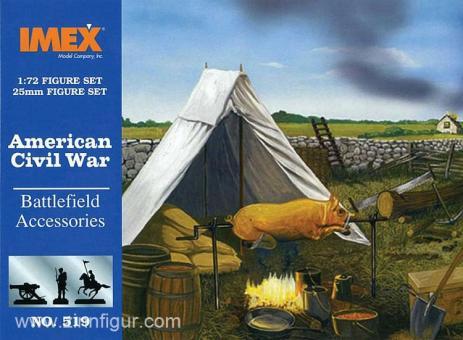 Schlachtfeld Zubehör - Amerikanischer Bürgerkrieg