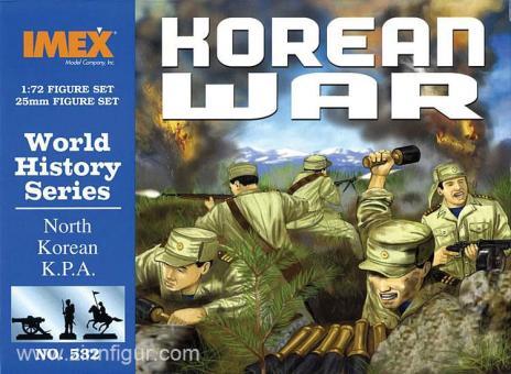 Nordkoreanische Infanterie - Koreakrieg