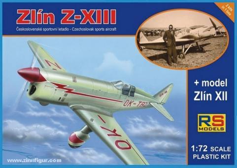 Zlin Z-XIII & Zlin Z-XII