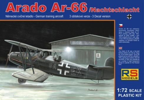 "Arado Ar 66 ""Nachtschlacht"""